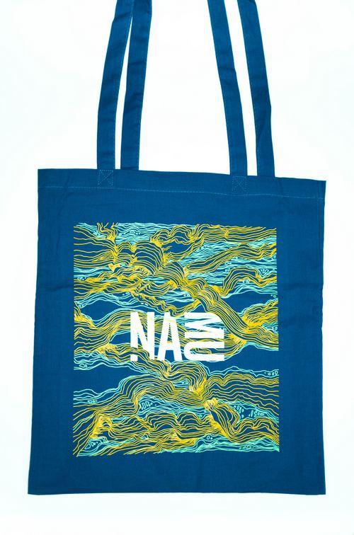 NAMU plátěná taška modrá