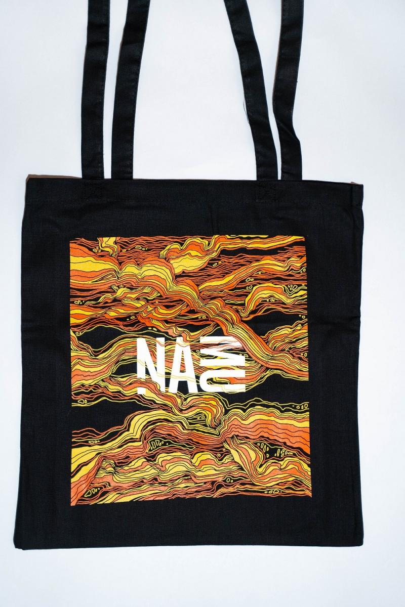 NAMU plátěná taška černá